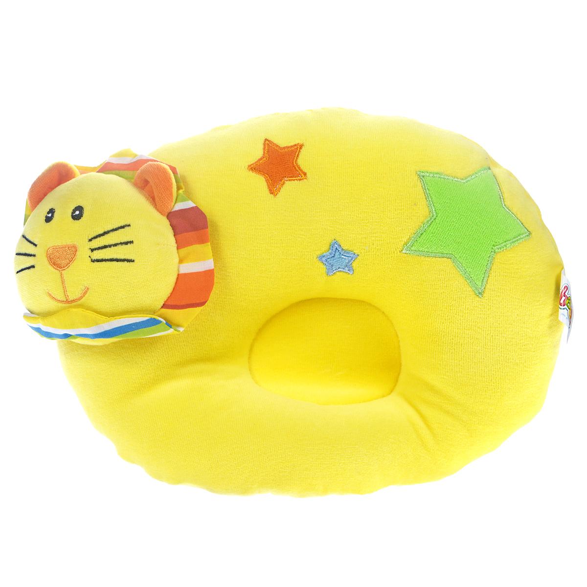 WSBD World Детская подушка Лев цвет желтыйB-10031Очаровательная мягкая подушка Лев выполнена из мягких материалов в виде симпатичного желтого льва. Необычайно мягкая и приятная на ощупь, она может использоваться также в качестве сиденья. Такая игрушка-подушка станет отличным аксессуаром для детской комнаты.