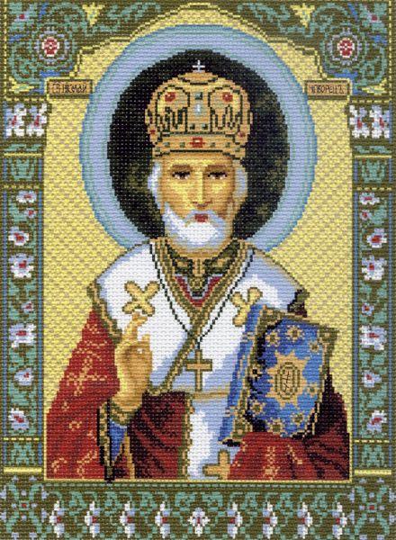 Канва с рисунком для вышивания Святитель Николай Чудотворец, 37 см х 49 см. 540551017Канва с рисунком для вышивания Святитель Николай Чудотворец изготовлена из хлопка. Вышивка выполняется в технике полный крестик в 2-3 нити или полукрестом в 4 нити. Создайте свой личный шедевр - красивую вышитую картину. Работа, выполненная своими руками, станет отличным подарком для друзей и близких! УВАЖАЕМЫЕ КЛИЕНТЫ! Обращаем ваше внимание, на тот факт, что цвет символа на ткани может отличаться от реального цвета нити мулине. Рекомендуемое количество цветов: 17.
