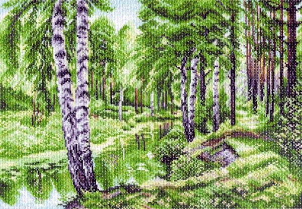 Канва с рисунком для вышивания Березовый лес, 37 х 49 см 1228549896, 549896Канва с рисунком для вышивания Березовый лес изготовлена из хлопка. Вышивка выполняется в технике полный крестик в 2-3 нити или полукрестом в 4 нити. Создайте свой личный шедевр - красивую вышитую картину. Работа, выполненная своими руками, станет отличным подарком для друзей и близких! УВАЖАЕМЫЕ КЛИЕНТЫ! Обращаем ваше внимание, на тот факт, что цвет символа на ткани может отличаться от реального цвета нити мулине. Рекомендуемое количество цветов: 23.