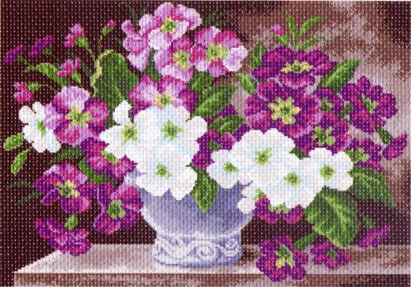 Канва с рисунком для вышивания Ваза с цветами, 37 х 49 см 1240549906Канва с рисунком для вышивания Ваза с цветами изготовлена из хлопка. Рисунок-вышивка выполненный на такой канве, выглядит очень оригинально. Вышивка выполняется в технике полный крестик в 2-3 нити или полукрестом в 4 нити. Для этого возьмите отрез (60 см) мулине нужного цвета, который состоит из 6 ниточек. Вышивание отвлечет вас от повседневных забот и превратится в увлекательное занятие! Работа, сделанная своими руками, создаст особый уют и атмосферу в доме и долгие годы будет радовать вас и ваших близких, а подарок, выполненный собственноручно, станет самым ценным для друзей и знакомых. Рекомендуемое количество цветов: 20. Не рекомендуется стирать или мочить рисунок на канве перед вышиванием. УВАЖАЕМЫЕ КЛИЕНТЫ! Обращаем ваше внимание, на тот факт, что цвет символа на ткани может отличаться от реального цвета нити мулине.