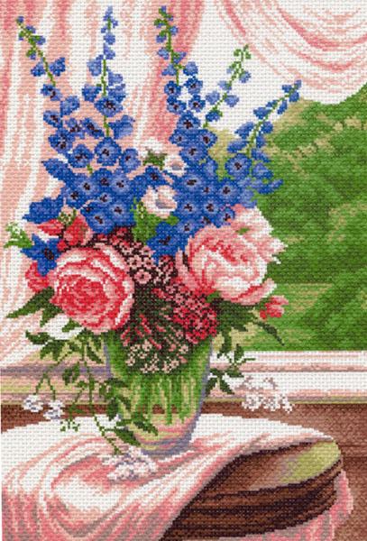 Канва с рисунком для вышивания Летние цветы, 37 см х 49 см. 521551006Канва с рисунком для вышивания Летние цветы изготовлена из хлопка. Вышивка выполняется в технике полный крестик в 2-3 нити или полукрестом в 4 нити. Создайте свой личный шедевр - красивую вышитую картину. Работа, выполненная своими руками, станет отличным подарком для друзей и близких! УВАЖАЕМЫЕ КЛИЕНТЫ! Обращаем ваше внимание, на тот факт, что цвет символа на ткани может отличаться от реального цвета нити мулине. Рекомендуемое количество цветов: 19.