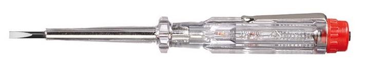 Отвертка-пробник однополюсный 255-3L 3,0x60 Wiha 0527105271Однополюсный пробник напряжения 220-250 В. Применяется для определения переменных напряжений в области низкого напряжения до 250 В по отношению к потенциалу земли. Согласно DIN 57860-6 и VDE 0680-6, знак GS, соответствие CE. Жало выполнено из хромованадиевой стали с никелевым покрытием, сплошная закалка. Отвертка-пробник имеет прозрачную рукоятку с зажимом. Подходит для профессионалов на предприятии и в мастерской, а также для домашних умельцев.