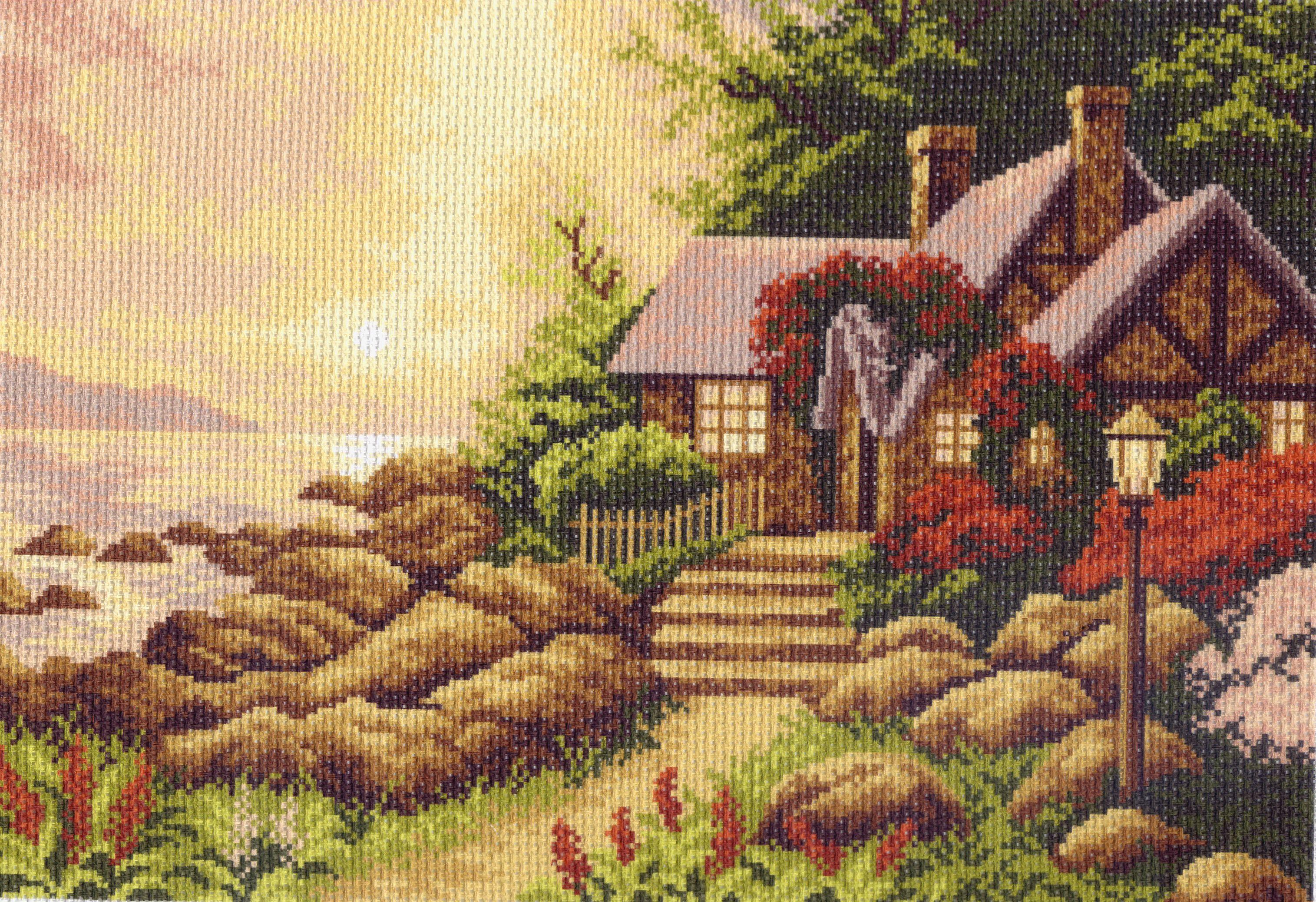 Вышивки крестиком с рисунком на канве