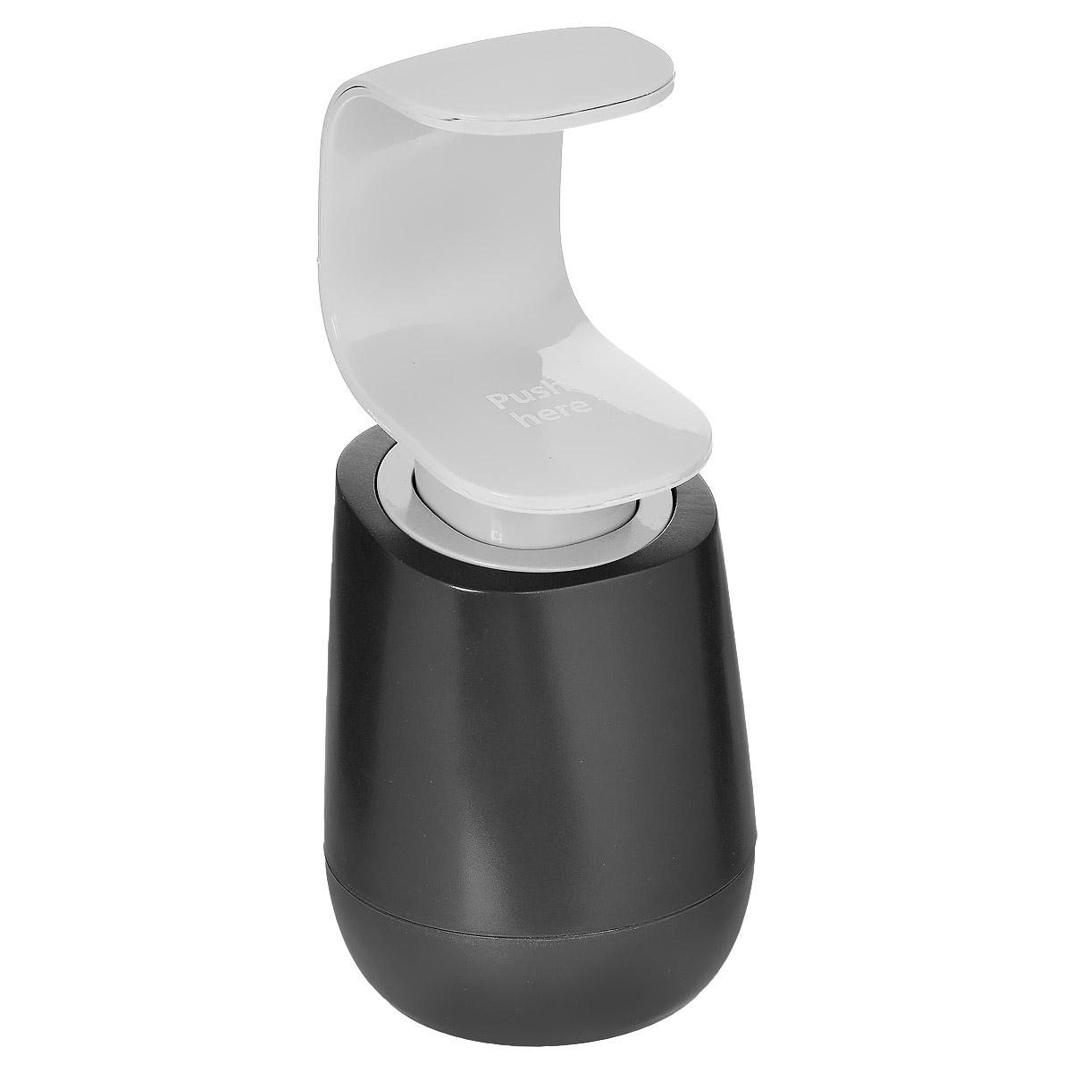 Диспенсер для мыла Joseph Joseph C-Pump, цвет: серый, 300 мл85054