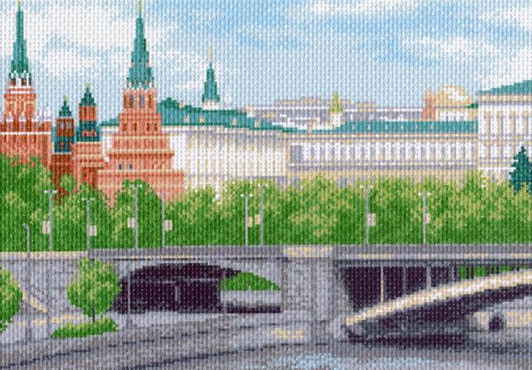 Канва с рисунком для вышивания Кремлевская набережная, 33 см х 45 см. 916551097Канва с рисунком для вышивания Кремлевская набережная изготовлена из хлопка. Рисунок-вышивка выполненный на такой канве, выглядит очень оригинально. Вышивка выполняется в технике полный крестик в 2-3 нити или полукрестом в 4 нити. Для этого возьмите отрез (60 см) мулине нужного цвета, который состоит из 6 ниточек. Вышивание отвлечет вас от повседневных забот и превратится в увлекательное занятие! Работа, сделанная своими руками, создаст особый уют и атмосферу в доме и долгие годы будет радовать вас и ваших близких, а подарок, выполненный собственноручно, станет самым ценным для друзей и знакомых. Рекомендуемое количество цветов: 19. Не рекомендуется стирать или мочить рисунок на канве перед вышиванием. УВАЖАЕМЫЕ КЛИЕНТЫ! Обращаем ваше внимание, на тот факт, что цвет символа на ткани может отличаться от реального цвета нити мулине.