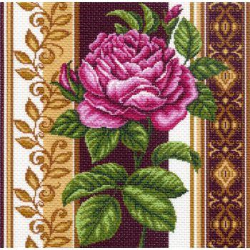 Канва с рисунком для вышивания Роза, 41 х 41 см 1420426805_1420Канва с рисунком для вышивания Роза изготовлена из хлопка. Рисунок-вышивка выполненный на такой канве, выглядит очень оригинально. Вышивка выполняется в технике полный крестик в 2 нити или полукрестом в 4 нити. Для этого возьмите отрез (60 см) мулине нужного цвета, который состоит из 6 ниточек. Вышивание отвлечет вас от повседневных забот и превратится в увлекательное занятие! Работа, сделанная своими руками, создаст особый уют и атмосферу в доме и долгие годы будет радовать вас и ваших близких, а подарок, выполненный собственноручно, станет самым ценным для друзей и знакомых. Рекомендуемое количество цветов: 13. Размер канвы: 41 см х 41 см. Не рекомендуется стирать или мочить рисунок на канве перед вышиванием. УВАЖАЕМЫЕ КЛИЕНТЫ! Обращаем ваше внимание, на тот факт, что цвет символа на ткани может отличаться от реального цвета нити мулине.