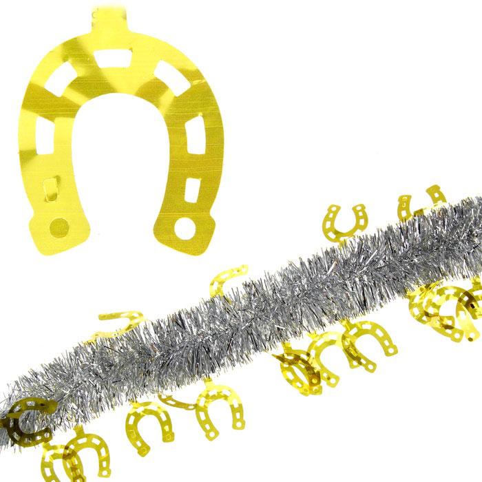 Мишура новогодняя Sima-land, цвет: серебристый, золотистый, диаметр 5 см, длина 2 м. 279380279380Мишура новогодняя Sima-land, выполненная из двухцветной фольги, поможет вам украсить свой дом к предстоящим праздникам. Мишура армирована, то есть имеет проволоку внутри и способна сохранять приданную ей форму. Новогодняя елка с таким украшением станет еще наряднее. Новогодней мишурой можно украсить все, что угодно - елку, квартиру, дачу, офис - как внутри, так и снаружи. Можно сложить новогодние поздравления, буквы и цифры, мишурой можно украсить и дополнить гирлянды, можно выделить дверные колонны, оплести дверные проемы. Коллекция декоративных украшений из серии Зимнее волшебство принесет в ваш дом ни с чем несравнимое ощущение праздника! Создайте в своем доме атмосферу тепла, веселья и радости, украшая его всей семьей.