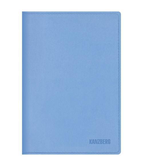 Ежедневник А6 Недатированный Голубой 152л. (KANZBERG Premium collection) Искуственная кожа, мягкая обложкаЕКК61515205Ежедневники KANZBERG Premium collection - это великолепное сочетание высокого качества и стильного дизайна. Ежедневник KANZBERG Premium collection комфортен в использовании. Удобные размеры позволят всегда носить его с собой и помогут правильно организовать свой день. Стильный дизайн ежедневника с термотиснением и цветным торцом идеально подчеркнет индивидуальность своего обладателя и дополнит его деловой стиль. Закладки (ляссе) помогут быстро найти нужные страницы, а недатированный блок позволит начать вести ежедневник с любого дня. Ежедневник KANZBERG Premium collection - это неотъемлемый атрибут современного делового человека, который ценит свое время, комфорт, качество и стиль. Разметка: . Бумага: офсет. Формат: А6. Пол: Унисекс. Особенности: скругленные уголки, цветной торец блока, ляссе, термотиснение.