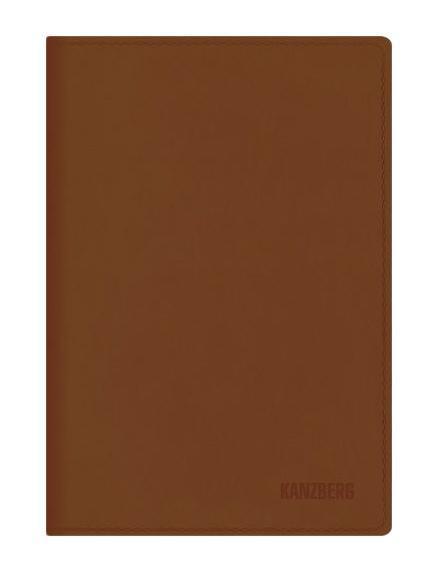 Ежедневник А5 Недатированный Коричневый 152л. (KANZBERG Premium collection) Искусственная кожа, мягкая обложкаЕКК51515204Ежедневники KANZBERG Premium collection - это великолепное сочетание высокого качества и стильного дизайна. Ежедневник KANZBERG Premium collection комфортен в использовании. Удобные размеры позволят всегда носить его с собой и помогут правильно организовать свой день. Стильный дизайн ежедневника с термотиснением и цветным торцом идеально подчеркнет индивидуальность своего обладателя и дополнит его деловой стиль. Закладки (ляссе) помогут быстро найти нужные страницы, а недатированный блок позволит начать вести ежедневник с любого дня. Ежедневник KANZBERG Premium collection - это неотъемлемый атрибут современного делового человека, который ценит свое время, комфорт, качество и стиль. Разметка: . Бумага: офсет. Формат: А5. Пол: Унисекс. Особенности: скругленные уголки, цветной торец блока, ляссе, термотиснение.