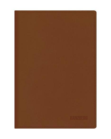 Ежедневник А6 Недатированный Коричневый 152л. (KANZBERG Premium collection) Искуственная кожа, мягкая обложкаЕКК61515204Ежедневники KANZBERG Premium collection - это великолепное сочетание высокого качества и стильного дизайна. Ежедневник KANZBERG Premium collection комфортен в использовании. Удобные размеры позволят всегда носить его с собой и помогут правильно организовать свой день. Стильный дизайн ежедневника с термотиснением и цветным торцом идеально подчеркнет индивидуальность своего обладателя и дополнит его деловой стиль. Закладки (ляссе) помогут быстро найти нужные страницы, а недатированный блок позволит начать вести ежедневник с любого дня. Ежедневник KANZBERG Premium collection - это неотъемлемый атрибут современного делового человека, который ценит свое время, комфорт, качество и стиль. Разметка: . Бумага: офсет. Формат: А6. Пол: Унисекс. Особенности: скругленные уголки, цветной торец блока, ляссе, термотиснение.