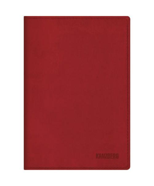Ежедневник А6 Недатированный Красный 152л. (KANZBERG Premium collection) Искуственная кожа, мягкая обложкаЕКК61515202Ежедневники KANZBERG Premium collection - это великолепное сочетание высокого качества и стильного дизайна. Ежедневник KANZBERG Premium collection комфортен в использовании. Удобные размеры позволят всегда носить его с собой и помогут правильно организовать свой день. Стильный дизайн ежедневника с термотиснением и цветным торцом идеально подчеркнет индивидуальность своего обладателя и дополнит его деловой стиль. Закладки (ляссе) помогут быстро найти нужные страницы, а недатированный блок позволит начать вести ежедневник с любого дня. Ежедневник KANZBERG Premium collection - это неотъемлемый атрибут современного делового человека, который ценит свое время, комфорт, качество и стиль. Разметка: . Бумага: офсет. Формат: А6. Пол: Унисекс. Особенности: скругленные уголки, цветной торец блока, ляссе, термотиснение.
