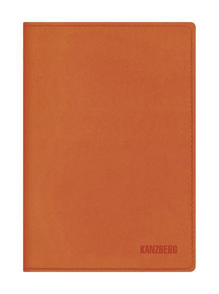 Ежедневник А6 Недатированный Оранжевый 152л. (KANZBERG Premium collection) Искуственная кожа, мягкая обложкаЕКК61515206Ежедневники KANZBERG Premium collection - это великолепное сочетание высокого качества и стильного дизайна. Ежедневник KANZBERG Premium collection комфортен в использовании. Удобные размеры позволят всегда носить его с собой и помогут правильно организовать свой день. Стильный дизайн ежедневника с термотиснением и цветным торцом идеально подчеркнет индивидуальность своего обладателя и дополнит его деловой стиль. Закладки (ляссе) помогут быстро найти нужные страницы, а недатированный блок позволит начать вести ежедневник с любого дня. Ежедневник KANZBERG Premium collection - это неотъемлемый атрибут современного делового человека, который ценит свое время, комфорт, качество и стиль.