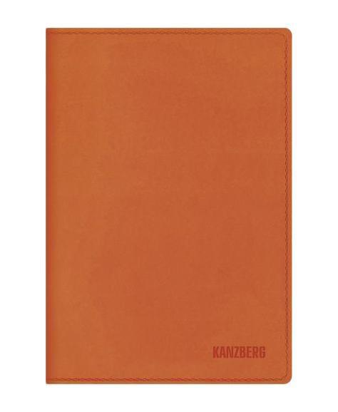 Ежедневник А5 Недатированный Оранжевый 152л. (KANZBERG Premium collection) Искусственная кожа, мягкая обложкаЕКК51515206Ежедневники KANZBERG Premium collection - это великолепное сочетание высокого качества и стильного дизайна. Ежедневник KANZBERG Premium collection комфортен в использовании. Удобные размеры позволят всегда носить его с собой и помогут правильно организовать свой день. Стильный дизайн ежедневника с термотиснением и цветным торцом идеально подчеркнет индивидуальность своего обладателя и дополнит его деловой стиль. Закладки (ляссе) помогут быстро найти нужные страницы, а недатированный блок позволит начать вести ежедневник с любого дня. Ежедневник KANZBERG Premium collection - это неотъемлемый атрибут современного делового человека, который ценит свое время, комфорт, качество и стиль. Разметка: . Бумага: офсет. Формат: А5. Пол: Унисекс. Особенности: скругленные уголки, цветной торец блока, ляссе, термотиснение.