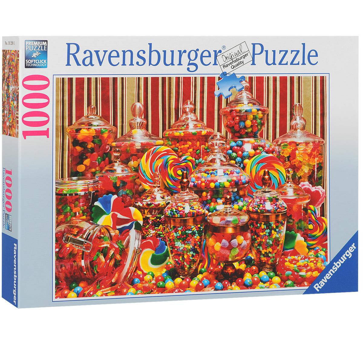 Ravensburger Конфетный рай. Пазл, 1000 элементов
