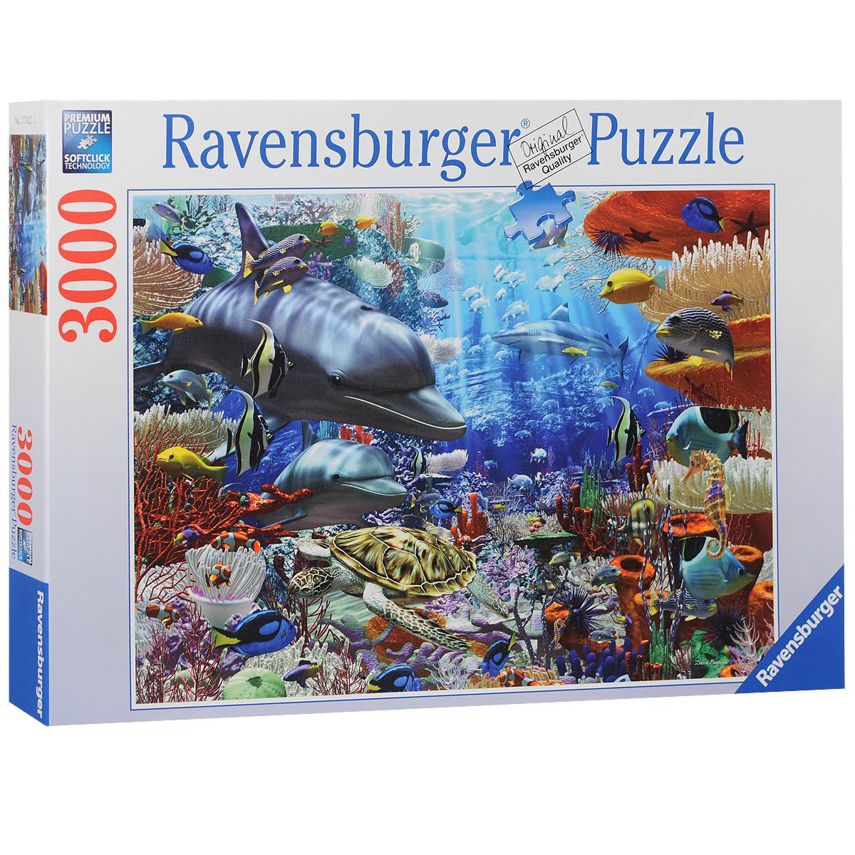 Ravensburger Дельфины. Пазл, 3000 элементов