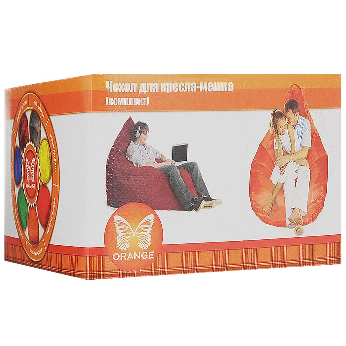 Комплект чехлов для кресла-мешка Orange, цвет: вишневый, 2 шт. 5200752007Комплект чехлов для кресла-мешка Orange состоит из внешнего съемного мешка и внутреннего чехла для наполнителя. Чехлы имеют форму груши; изготовлены из оксфорда и спанбонда. Инструкция по применению: Открыть молнию внутреннего чехла, добавить во внутренний чехол наполнитель. Закрыть молнию внутреннего чехла, одеть внешний мешок. Изделие рекомендуется стирать при температуре 40°С. Запрещается отжим и сушка в стиральной машине, химчистка и отбеливание. Внимание! Наполнитель для внутреннего чехла не входит в поставку. УВАЖАЕМЫЕ КЛИЕНТЫ! Обращаем ваше внимание на то, что для сборки кресла-мешка требуется комплект чехлов и 2 мешка наполнителя.