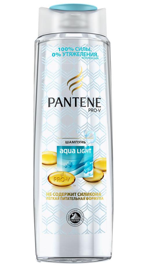 Pantene Pro-V Шампунь Aqua Light, легкий, питательный, 600 млPT-81454466Шампунь Pantene Pro-V Aqua Light придает вашим тонким волосам силу, не утяжеляя их! Улучшенная формула Pantene Pro-V: легкая, питательная, с активными частицами укрепляет тонкие волосы. Питает и укрепляет волосы по всей длине. Не утяжеляет волосы. Не содержит силикона. Концентрация витаминов сертифицирована Швейцарским Институтом Витаминов. Для лучшего результата используйте с бальзамом-ополаскивателем и средствами серии Aqua Light. Товар сертифицирован.