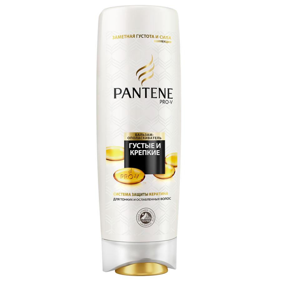 Pantene Pro-V Бальзам-ополаскиватель Густые и крепкие, для тонких и ослабленных волос, 600 мл