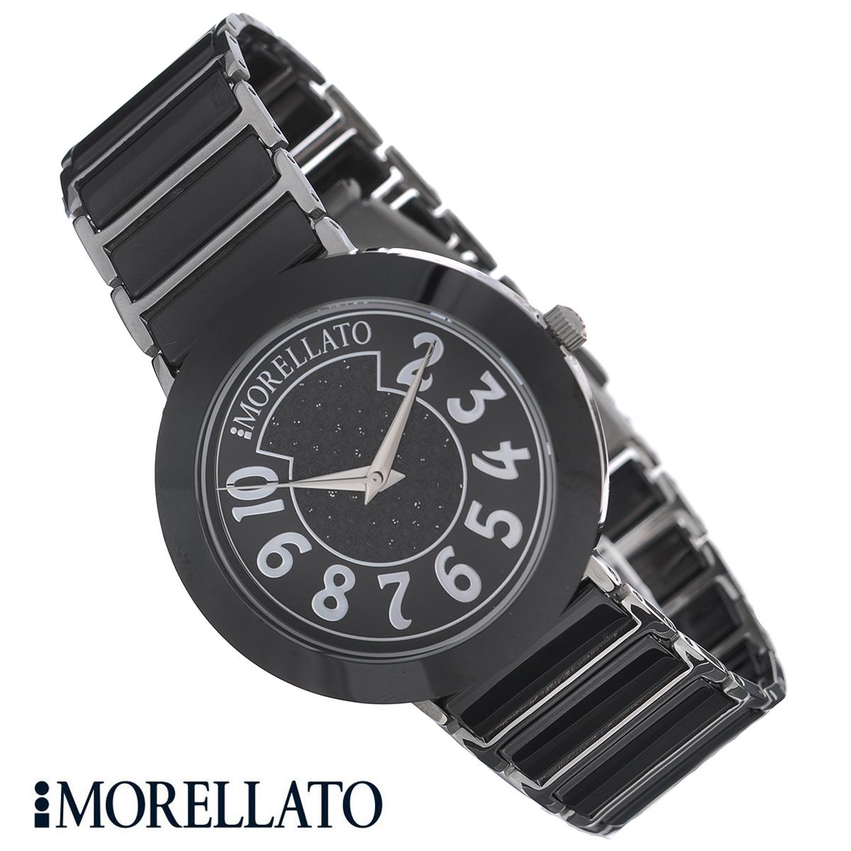 Часы женские наручные Morellato, цвет: черный, серебристый. R0153103504R0153103504Наручные женские часы Morellato оснащены кварцевым механизмом. Корпус выполнен из высококачественной нержавеющей стали и керамики. Циферблат оформлен арабскими цифрами и кристаллами и защищен минеральным стеклом. Часы имеют три стрелки - часовую, минутную и секундную. Браслет часов выполнен из нержавеющей стали и керамики и оснащен раскладывающейся застежкой-клипсой. Часы укомплектованы паспортом с подробной инструкцией. Часы Morellato отличаются уникальным, но в то же время простым и лаконичным стилем. Характеристики: Диаметр циферблата: 3 см. Размер корпуса: 3,8 см х 3,8 см х 1,1 см. Длина браслета (с корпусом): 24,5 см. Ширина браслета: 2 см.