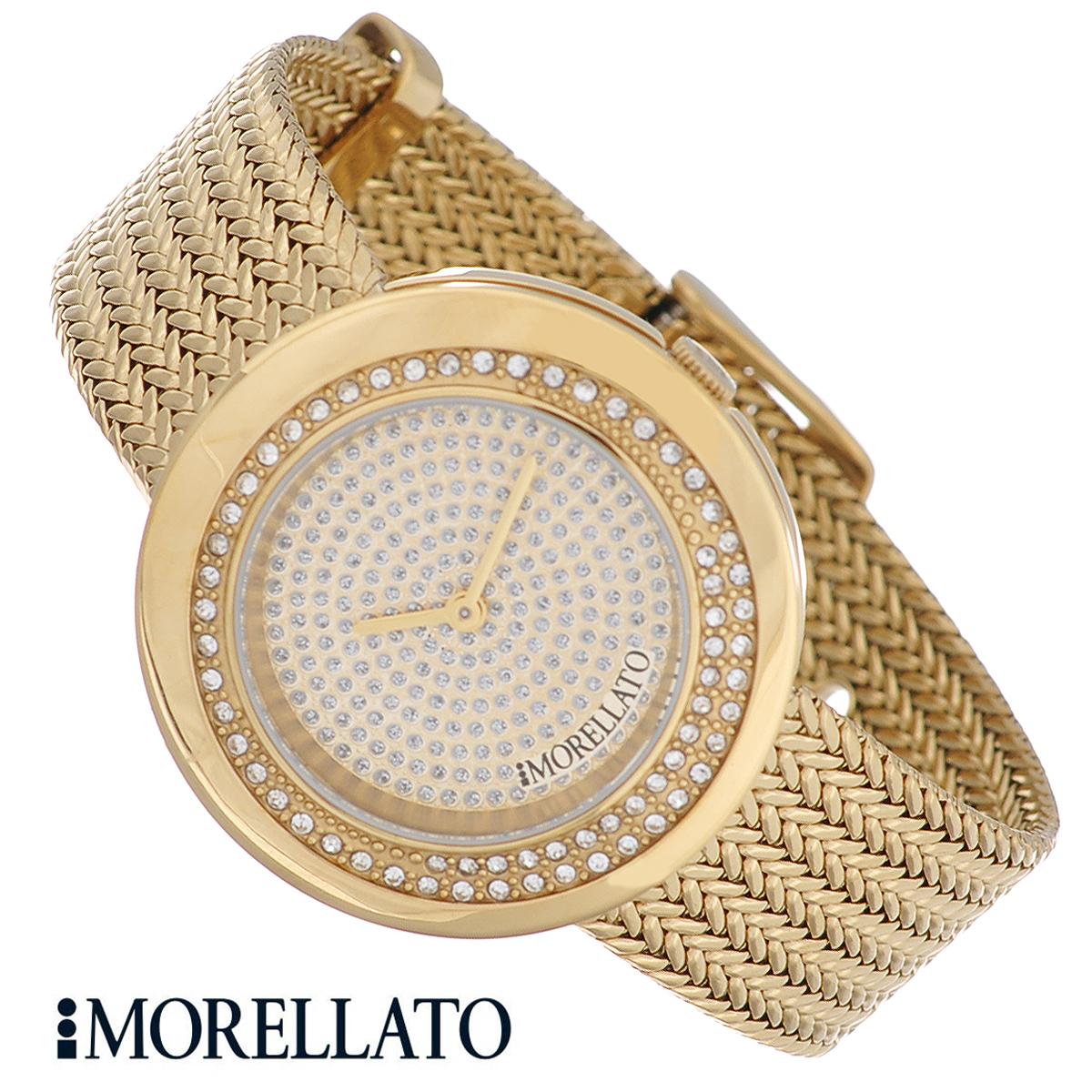 Часы женские наручные Morellato, цвет: золотистый. R0153112501R0153112501Наручные женские часы Morellato оснащены кварцевым механизмом. Корпус выполнен из высококачественной нержавеющей стали с PVD-покрытием и по контуру циферблата инкрустирован кристаллами. Циферблат также оформлен кристаллами и защищен минеральным стеклом. Часы имеют две стрелки - часовую и минутную. Ремешок часов выполнен из нержавеющей стали с PVD-покрытием и оснащен классической застежкой. Часы укомплектованы паспортом с подробной инструкцией. Часы Morellato отличаются уникальным, но в то же время простым и лаконичным стилем. Характеристики: Диаметр циферблата: 2,3 см. Размер корпуса: 3,4 см х 3,4 см х 0,5 см. Длина ремешка (с корпусом): 21 см. Ширина ремешка: 1,8 см.