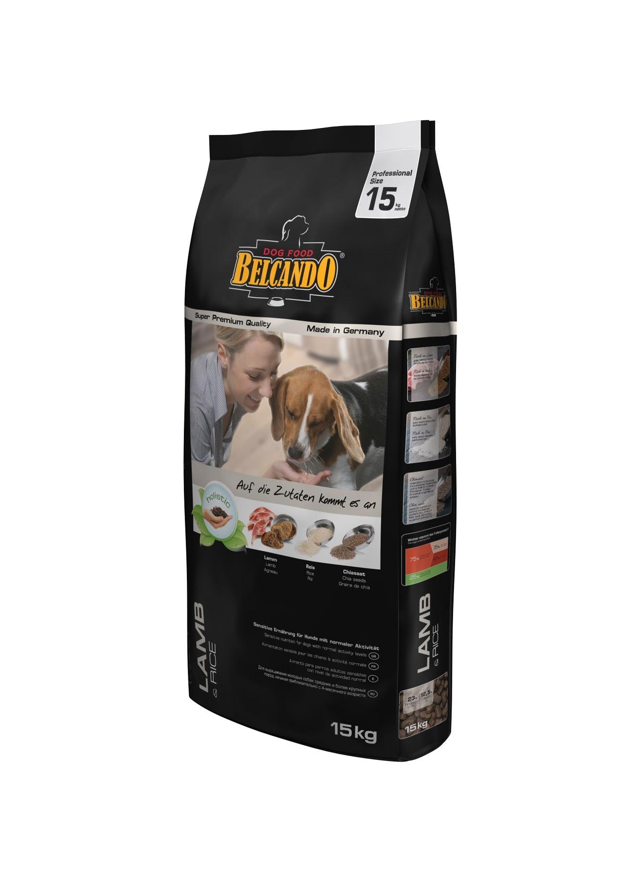 Корм сухой Belcando Lamb Rice, гипоаллергенный, для взрослых собак с нормальной активностью, на основе ягненка, 15 кг26087Особая формула корма Belcando Lamb Rice ориентирована на собак, которые страдают пищевыми расстройствами, а так же индивидуальной непереносимостью таких популярных мясных ингредиентов, как говядина и мясо цыпленка. Ягненок и рис - лучшая основа для гипоаллергенного корма, которая позволяет избежать непереносимости у чувствительных животных, но при этом получить все необходимые питательные вещества, витамины и микроэлементы. Состав: рис (40 %); сухое мясо ягненка (15 %); сухое мясо птицы пониженной зольности (12,5 %); овес; жир домашней птицы; рафинированное растительное масло; вытяжка из виноградной косточки; пивные дрожжи; семена чии (1,5 %); овсяные хлопья; льняное семя; гидролизат печени птицы; поваренная соль; калий хлористый; травы (всего 0,2 %: листья крапивы, корень горечавки, золототысячник, ромашка, фенхель, тмин, омела, тысячелестник, листья ежевики); экстракт юкки. Питательные добавки: Витамин А: 13,000 МЕ/кг, Витамин Е: 130 мг/кг, Витамин D3:...