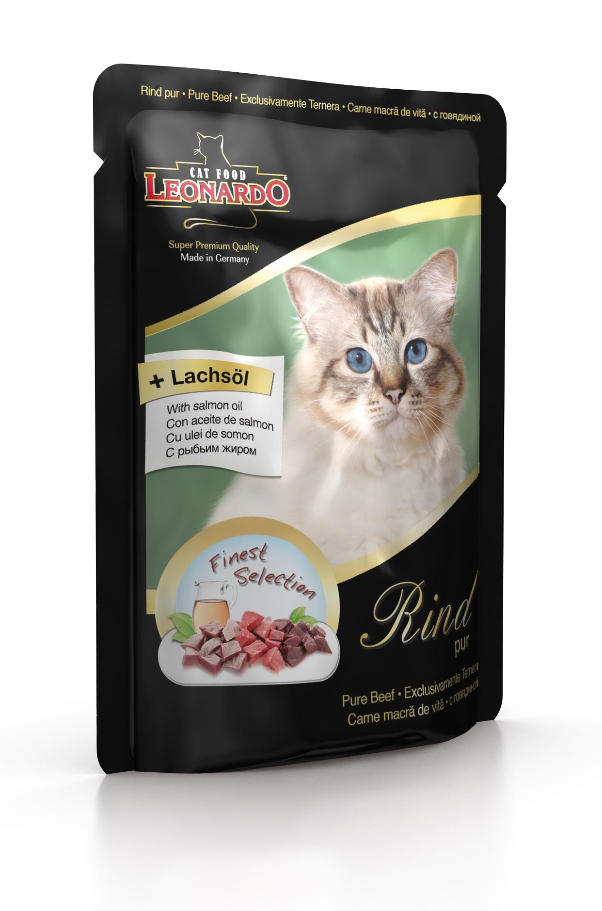 Консервы Leonardo для взрослых кошек, с говядиной, 85 г41870Консервы Leonardo - полноценное сбалансированное питание для взрослых кошек. Корм обладает высокой вкусовой привлекательностью и способен удовлетворить потребности любой кошки. Состав: говядина, сердце, легкие, печень, почки, рубец (70 %), говяжий бульон (29,6 %), рыбий жир (семейство лососевые) (0,2 %), карбонад кальция (0,2 %). Анализ: влажность 81%, протеин 10,6%, жир 5,9%, зола 1,6%, клетчатка 0,3%. Добавки на кг: витамин А - 3000 ME, витамин D3 - 200 ME, витамин Е - 30 МЕ, таурин - 1500 мг, марганец - 3 мг, цинк - 15 мг, йод - 0,75 мг, селен - 0,03 мг. Товар сертифицирован.