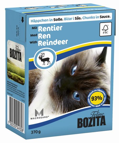 Консервы для кошек Bozita Feline, с мясом оленя в желе, 370 г4930Консервы Bozita Feline - это полнорационное влажное питание премиум класса для кошек. Содержит 93% свежего шведского мяса, которое никогда не было заморожено. Состав: 93% свежего мяса: курица, мясо оленя (7,2% в порции), говядина, свинина, карбонат кальция, дрожжи MacroGard. Добавки на кг: витамин А 2000МЕ, витамин D3 200МЕ, витамин Е 12 мг, таурин 700 мг, медь 2 мг (сульфат меди-(II), пентагидрат), марганец 1,8 мг (оксид марганца -II и -III), цинк 14 мг (сульфат цинка, моногидрат), йод 0,1 мг (йодат кальция, моногидрат). Содержит все витамины и минералы, в которых нуждается ваш питомец. Анализ состава: белок 8,5%, жир 4,5%, клетчатка 0,5%, минеральные вещества (сырая зола 2,3%, кальций 0,35%, фосфор 0,3%, магний 0,02%), влага 83%. Продукт не содержит ГМО. Энергетическая ценность: 290 кДж/100г. Вес: 370 г. Товар сертифицирован.