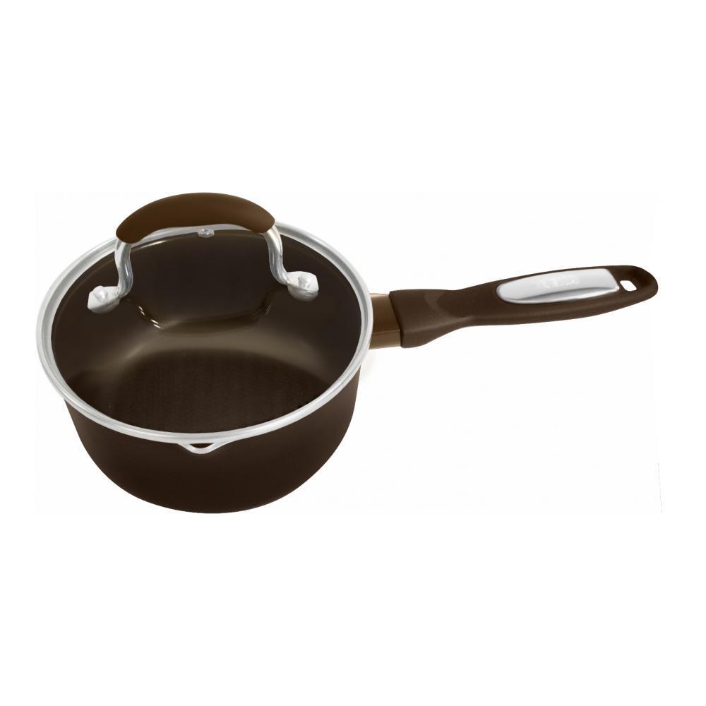 """Ковш Beka """"Pro Induc Bronze"""" с крышкой, с антипригарным покрытием, цвет: коричневый, 1,1 л. 13616174"""