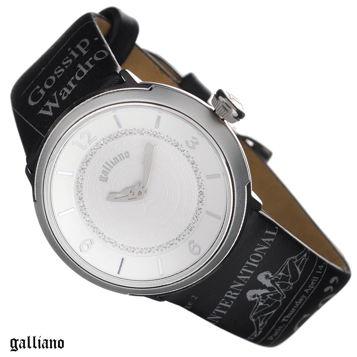 Часы женские наручные Galliano, цвет: черный, серебристый. R2551100503R2551100503