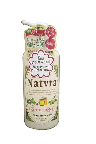 Japan Gateway Кондиционер Natvra, для красоты волос, 500 мл