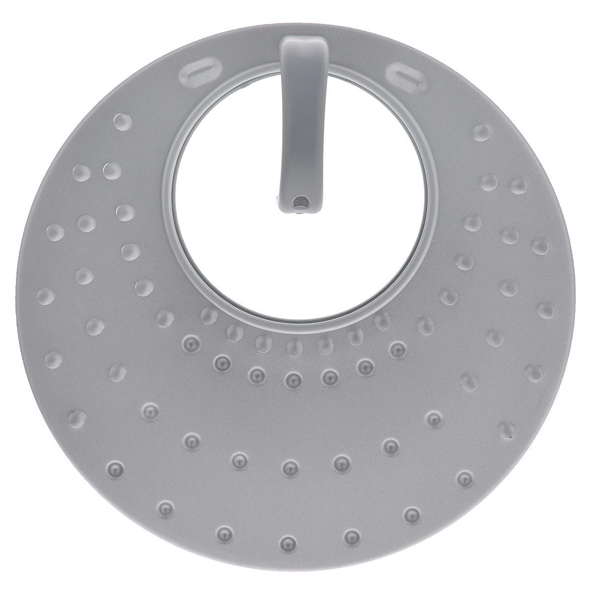Крышка универсальная Travola, цвет: серебристый. Диаметр от 20 до 30 см.XCS-30ML/GКрышка Travola выполнена из высококачественной стали с круглой вставкой из стекла. На поверхности крышки имеются многочисленные отверстия для вывода пара. Данная крышка подойдет как для сковороды, так и для кастрюли. А оригинальный дизайн не оставит равнодушной ни одну хозяйку.