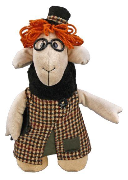 Мягкая игрушка Fluffy Family Овечки челОвечки: Дама, 31 см681022Забавная мягкая игрушка Fluffy Family Овечки челОвечки: Дама поднимет настроение и малышам, и взрослым. Игрушка изготовлена из высококачественного текстильного материала с набивкой из полиэфирного волокна. Игрушка выполнена в виде изящной овечки в модном клетчатом пальто. Стильный клатч, широкополая шляпка и пушистый воротник дополняют образ. На голове Дамы - курчавые волосы из ниток. Игрушка имеет уплотнения в ногах, позволяющие ей стоять самостоятельно. Оригинальная мягкая игрушка способна развеселить как ребенка, так и взрослого. Внешний вид игрушки продуман до мелочей, и она идеально вписывается в задуманный образ. Такая очаровательная овечка непременно вызовет у вас улыбку. Великолепное качество исполнения делают эту игрушку чудесным подарком к любому празднику. Овечки челОвечки - это оригинальная коллекция авторских игрушек. Все челОвечки такие разные, и все-таки в каждом мы узнаем своих знакомых, друзей и возможно даже самих себя.