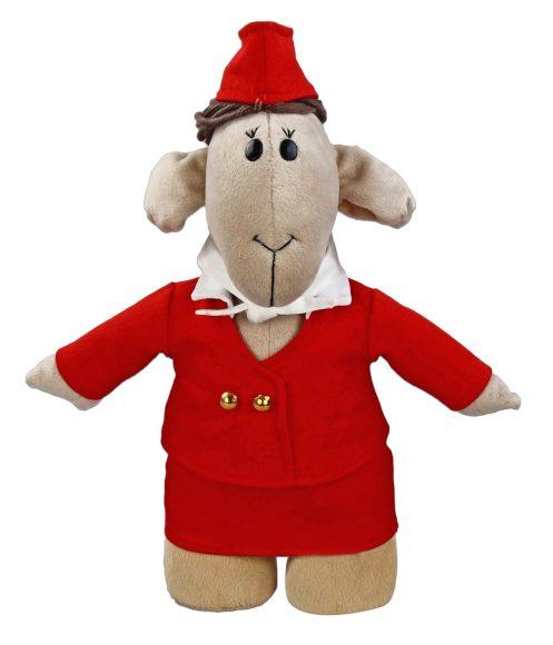 Мягкая игрушка Fluffy Family Овечки челОвечки: Стюардесса, 31 см681029Забавная мягкая игрушка Fluffy Family Овечки челОвечки: Стюардесса поднимет настроение и малышам, и взрослым. Игрушка изготовлена из высококачественного текстильного материала с набивкой из полиэфирного волокна. Игрушка выполнена в виде симпатичной овечки в костюме стюардессы. Белоснежный галстук, блестящие пуговицы и пилотка дополняют образ. На голове Стюардессы - курчавые волосы из ниток. Игрушка имеет уплотнения в ногах, позволяющие ей стоять самостоятельно. Оригинальная мягкая игрушка способна развеселить как ребенка, так и взрослого. Внешний вид игрушки продуман до мелочей, и она идеально вписывается в задуманный образ. Такая очаровательная овечка непременно вызовет у вас улыбку. Великолепное качество исполнения делают эту игрушку чудесным подарком к любому празднику. Овечки челОвечки - это оригинальная коллекция авторских игрушек. Все челОвечки такие разные, и все-таки в каждом мы узнаем своих знакомых, друзей и возможно даже самих себя.