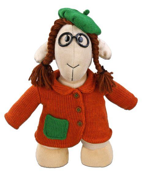 Мягкая игрушка Fluffy Family Овечки челОвечки: Умница, 32 см681032Забавная мягкая игрушка Fluffy Family Овечки челОвечки: Умница поднимет настроение и малышам, и взрослым. Игрушка изготовлена из высококачественного текстильного материала с набивкой из полиэфирного волокна. Игрушка выполнена в виде серьезной овечки в вязаном пальто. Вязаный берет, круглые очки и смешные косички дополняют образ. На голове Умницы - курчавые волосы из ниток. Игрушка имеет уплотнения в ногах, позволяющие ей стоять самостоятельно. Оригинальная мягкая игрушка способна развеселить как ребенка, так и взрослого. Внешний вид игрушки продуман до мелочей, и она идеально вписывается в задуманный образ. Такая очаровательная овечка непременно вызовет у вас улыбку. Великолепное качество исполнения делают эту игрушку чудесным подарком к любому празднику. Овечки челОвечки - это оригинальная коллекция авторских игрушек. Все челОвечки такие разные, и все-таки в каждом мы узнаем своих знакомых, друзей и возможно даже самих себя.