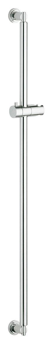 Душевая штанга Grohe Sena, 900 мм. 2834600028346000Душевая штанга Grohe Sena предназначена для удержания душа. Выполнена из высококачественного металла с хромированным покрытием. Поворотный держатель душа регулируется по высоте. Технология GROHE StarLight обеспечивает блестящую поверхность, которая отталкивает грязь и не подвержена царапинам и трещинам. Штанга будет выглядеть как новая в течение всего срока службы. Высота штанги: 900 мм.