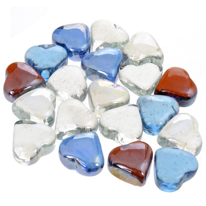 Набор декоративных камней Сердечки, 300 г812-010Набор декоративных камней Сердечки замечательно подойдет для украшения вашего дома. Изделия выполнены в виде сердец разного цвета. Набор можно использовать для создания индивидуального интерьера, а так же как наполнитель декоративных ваз. Декоративные камни создают чувство уюта и улучшают настроение.
