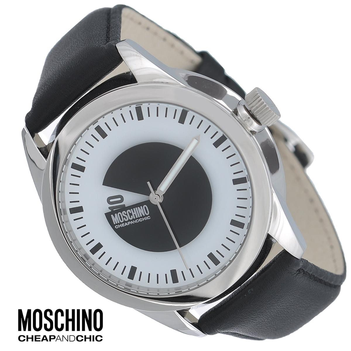 Часы наручные Moschino, цвет: серебристый, черный. MW0339MW0339Наручные часы от известного итальянского бренда Moschino - это не только стильный и функциональный аксессуар, но и современные технологи, сочетающиеся с экстравагантным дизайном и индивидуальностью. Часы Moschino лаконичного дизайна оснащены кварцевым механизмом. Корпус выполнен из высококачественной нержавеющей стали. Циферблат с арабскими цифрами и отметками защищен минеральным стеклом. Часы имеют две стрелки - часовую и минутную. Ремешок часов выполнен из натуральной кожи и оснащен классической застежкой. Часы упакованы в фирменную металлическую коробку с логотипом бренда. Часы Moschino благодаря своему уникальному дизайну отличаются от часов других марок своеобразными циферблатами, функциональностью, а также набором уникальных технических свойств. Каждой модели присуща легкая экстравагантность, самобытность и, безусловно, великолепный вкус. Характеристики: Диаметр циферблата: 3,5 см. Размер корпуса: 3,9 см х 3,9 см х...