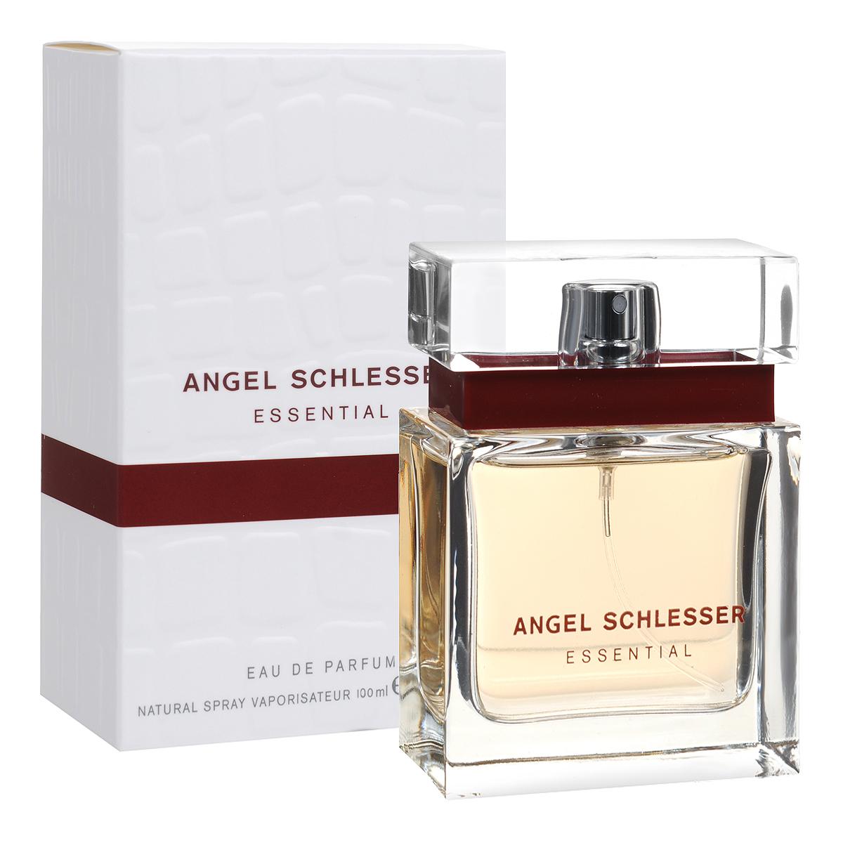 Angel Schlesser Парфюмерная вода Essential, женская, 100 мл25732Женский аромат Angel Schlesser Essential создан для современной, уверенной в себе женщины, которая следит за новыми тенденциями в мире моды и парфюмерии. Он посвящен элегантной, соблазнительной и неповторимой женщине. Она обладает яркой маняще-откровенной красотой, но в то же время скрывает в себе неразрешимую притягательную тайну. Эта тайна делает ее особенной, непохожей на других, наполняя сосуд ее красоты бесконечным и драгоценным содержанием. Классификация аромата : цветочно-фруктовый. Пирамида аромата : Верхние ноты: бергамот, красная смородина, свежесть фруктов. Ноты сердца: болгарская роза, пион, фрезия, фиалка.. Ноты шлейфа: мускус, ветивер, сандал. Ключевые слова нежный, свежий! Самый популярный вид парфюмерной продукции на сегодняшний день - парфюмерная вода. Это объясняется оптимальным балансом цены и качества - с одной стороны, достаточно высокая...