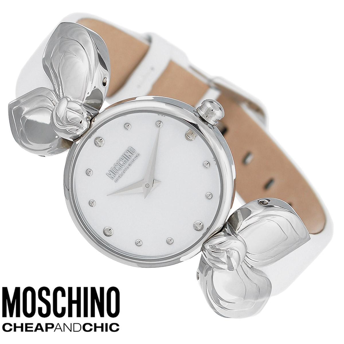 Часы женские наручные Moschino, цвет: белый. MW0308MW0308Наручные часы от известного итальянского бренда Moschino - это не только стильный и функциональный аксессуар, но и современные технологи, сочетающиеся с экстравагантным дизайном и индивидуальностью. Часы Moschino оснащены кварцевым механизмом. Корпус выполнен из высококачественной нержавеющей стали. Циферблат с отметками защищен минеральным стеклом. Часы имеют две стрелки - часовую и минутную. Ремешок часов выполнен из натуральной кожи и оснащен классической застежкой. Часы упакованы в фирменную металлическую коробку с логотипом бренда. Часы Moschino благодаря своему уникальному дизайну отличаются от часов других марок своеобразными циферблатами, функциональностью, а также набором уникальных технических свойств. Каждой модели присуща легкая экстравагантность, самобытность и, безусловно, великолепный вкус. Характеристики: Диаметр циферблата: 2,7 см. Размер корпуса: 3 см х 3 см х 0,7 см. Длина ремешка (с корпусом): 22...