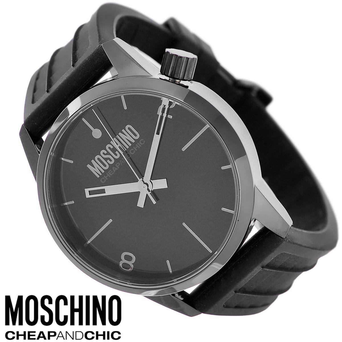 Часы наручные Moschino, цвет: черный. MW0271MW0271Наручные часы от известного итальянского бренда Moschino - это не только стильный и функциональный аксессуар, но и современные технологи, сочетающиеся с экстравагантным дизайном и индивидуальностью. Часы Moschino оснащены кварцевым механизмом. Корпус круглой формы выполнен из высококачественной нержавеющей стали с PVD-покрытием. Циферблат с отметками и арабскими цифрами защищен минеральным стеклом. Часы имеют три стрелки - часовую, минутную и секундную. Ремешок часов выполнен из каучука и оснащен классической застежкой. Часы упакованы в фирменную металлическую коробку с логотипом бренда. Часы Moschino благодаря своему уникальному дизайну отличаются от часов других марок своеобразными циферблатами, функциональностью, а также набором уникальных технических свойств. Каждой модели присуща легкая экстравагантность, самобытность и, безусловно, великолепный вкус. Характеристики: Диаметр циферблата: 4 см. Размер корпуса: 4,5 см х...