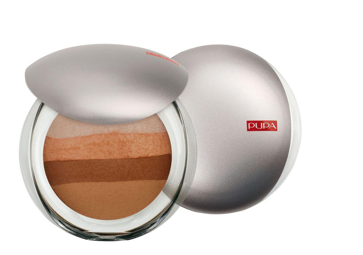 PUPA Румяна-пудра универсальная для лица и тела LUMINYS BAKED ALL OVER, тон 04 бронзовый , 9 г0052304Румяна-пудра Pupa Luminys Baked All Over - эксклюзивный продукт. Под крышкой одной упаковки находятся сразу четыре разных цвета. Их можно использовать и как универсальную пудру, и как румяна. Легкая, бархатистая консистенция обеспечивает естественный макияж. Наносить кисточкой (в комплект не входит). Технология производства которая занимается запеченными средствами гарантирует: оптимальную мягкость на ощупь, максимальную яркость цвета и максимальную стойкость макияжа.