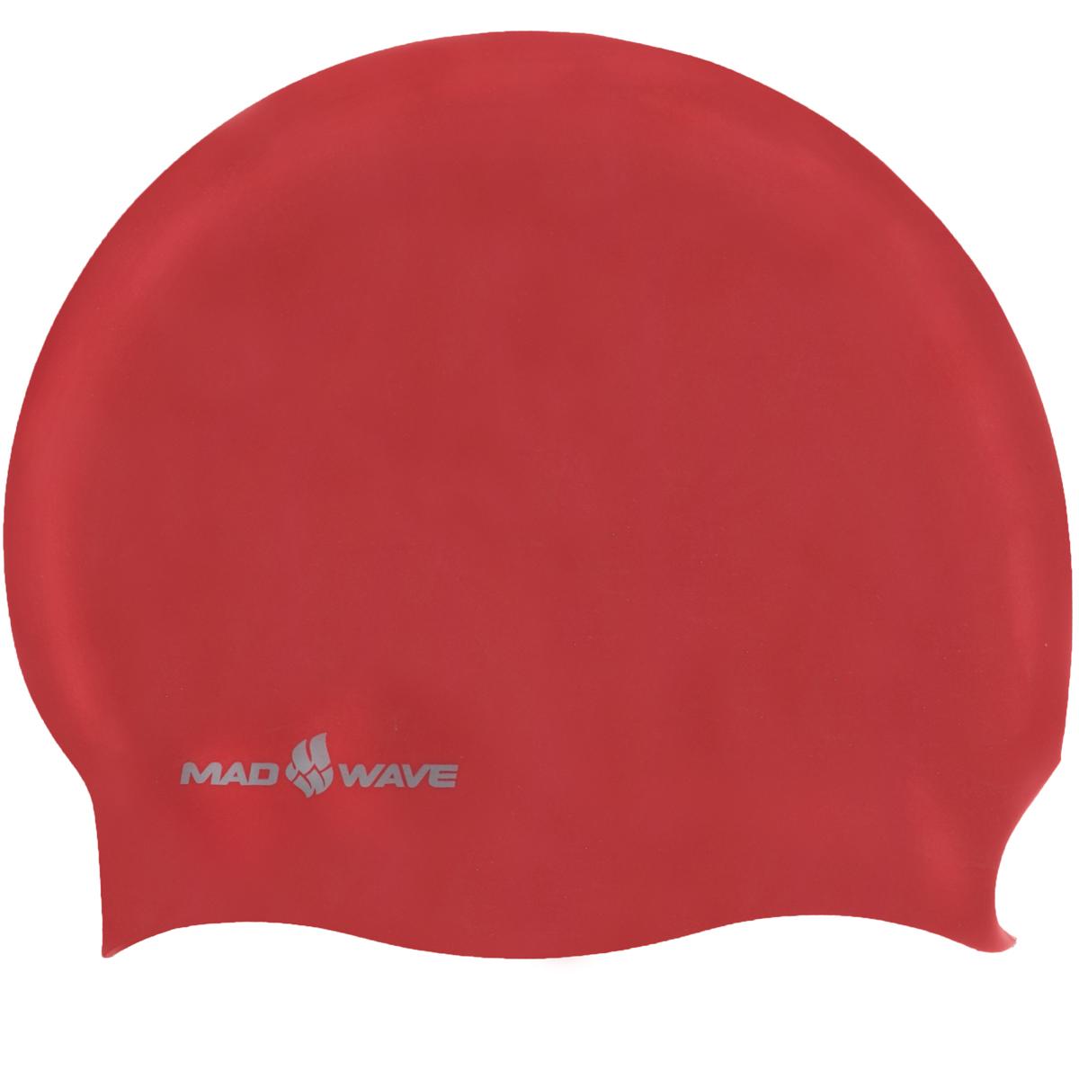 Шапочка для плавания Mad Wave Reverse Champion, цвет: серебро, красный100105273D двусторонняя шапочка для плавания Mad Wave Reverse Champion изготовлена из мягкого прочного силикона, который обеспечивает идеальную подгонку и комфорт. Материал шапочки не вызывает раздражения, что гарантирует безопасность использования шапочки. Силикон не пропускает воду и приятен на ощупь.