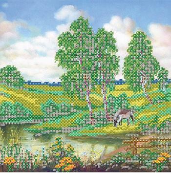 Канва с рисунком для вышивания бисером Alisena Лошади у реки, 25 х 25 см В1136699987Ткань с рисунком для вышивания Alisena Лошади у реки изготовлена из атласа. Рисунок-вышивка, выполненный на такой ткани, выглядит очень оригинально. Вышивка выполняется в технике монастырский шов бисером Preciosa №10 (Чехия). Вышивание отвлечет вас от повседневных забот и превратится в увлекательное занятие! Работа, сделанная своими руками, создаст особый уют и атмосферу в доме и долгие годы будет радовать вас и ваших близких, а подарок, выполненный собственноручно, станет самым ценным для друзей и знакомых. Рекомендуемое количество цветов: 15.