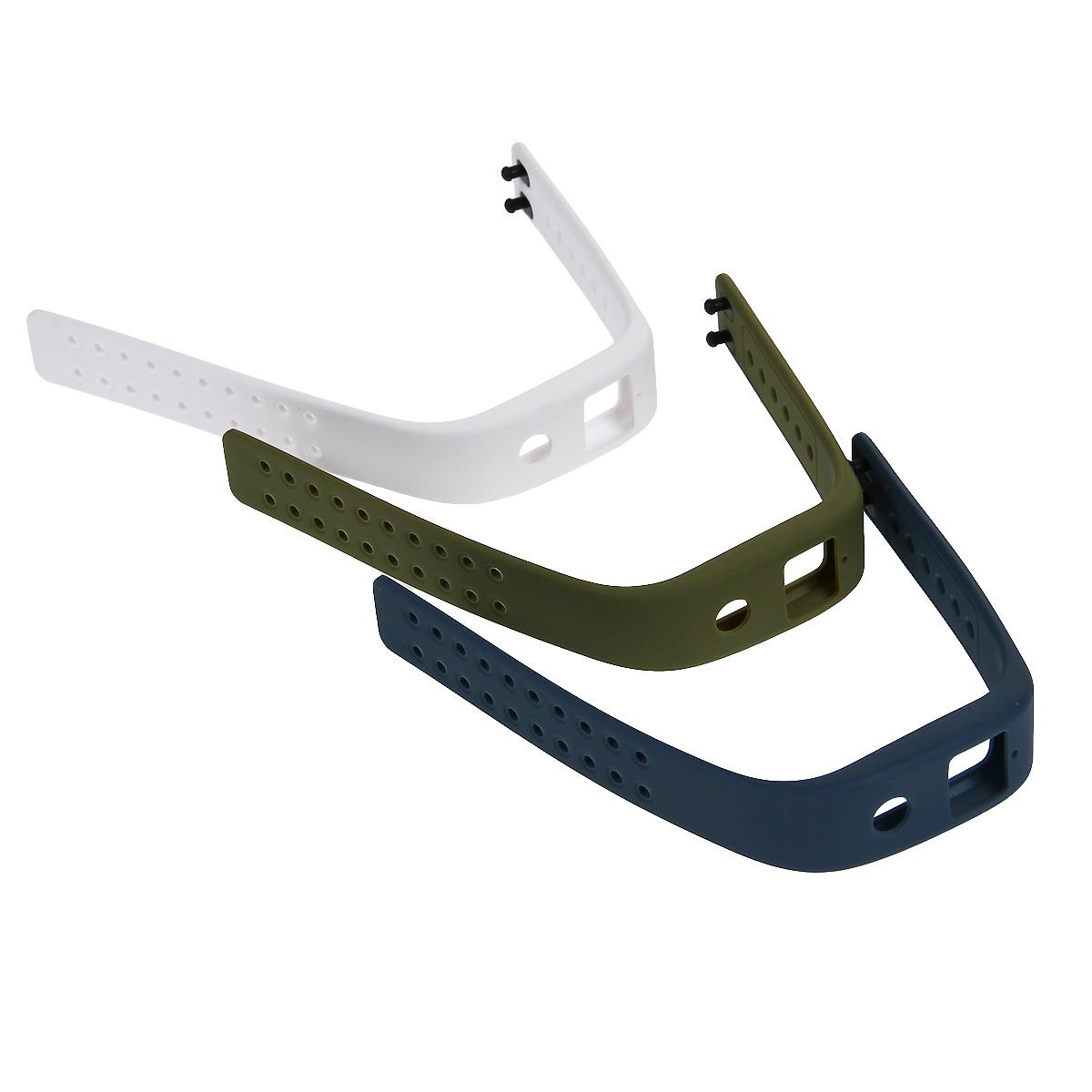 Комплект ремней для Runtastic Orbit, цвет: зеленый, белый, серый
