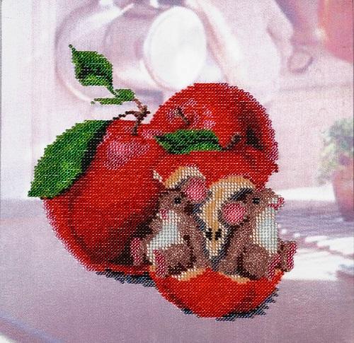 Канва с рисунком для вышивания бисером Alisena Мышки, 25 х 24 см 699981699981Канва с рисунком для вышивания бисером Alisena Мышки изготовлена из атласа. Вышивка выполняется в технике Монастырский шов бисером Пресиоза № 10 (Чехия). Создайте свой личный шедевр - красивую вышитую картину. Работа, выполненная своими руками, станет отличным подарком для друзей и близких!