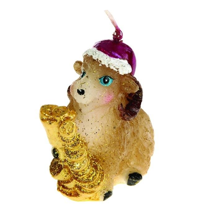 Свеча декоративная Sima-land Овца с дорогим подарком. 823783823783