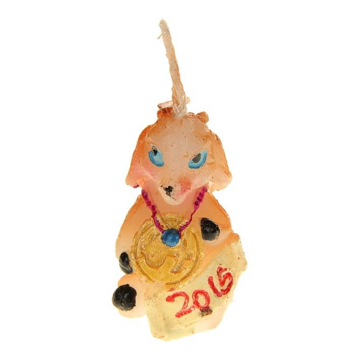 Свеча декоративная Sima-land Коза. 823763823763Свеча декоративная Sima-land Коза - отличный подарок, подчеркивающий яркую индивидуальность того, кому он предназначается. Свеча выполнена из высококачественного воска в форме козы. Такая свеча украсит интерьер вашего дома или офиса в преддверии Нового года. Оригинальный дизайн и красочное исполнение создадут праздничное настроение. Материал: воск. Размер свечи (без учета фитиля): 2,5 см х 2 см х 3,5 см.