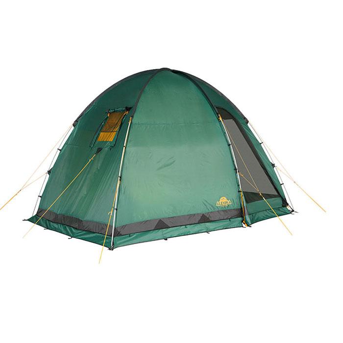 Палатка Alexika Minnesota 3 Luxe 9153.3401, цвет: зеленый9153.3401Эта палатка - идеальный выбор для семьи, состоящей из 3-х человек. С ней вам не придется размышлять, где расположиться самим, а куда пристроить свои вещи. Палатка оснащена просторным тамбуром, который может подойти для обустройства походной кухни. В стенке тамбура имеется прозрачная вставка. В комплекте предусмотрено дно для тамбурного отделения. В палатке MINNESOTA 3 LUXE имеется три входа, каждый из них защищен противомоскитной сеткой. Поэтому спокойные ночи без надоедливого жужжания насекомых вам обеспечены. Для защиты от ветра по периметру палатки располагается «юбка». В местах, на которые приходятся серьезные нагрузки, используется более прочная ткань. MINNESOTA 3 LUXE выделяется среди аналогичных палаток тщательно продуманной системой вентиляции. Ее эффективность достигается за счет наличия вентиляционного окна (располагается в верхней части купола) с ветровым клапаном и торцевого окна, дополненного внешней шторкой на молнии. Для изготовления тента используется...