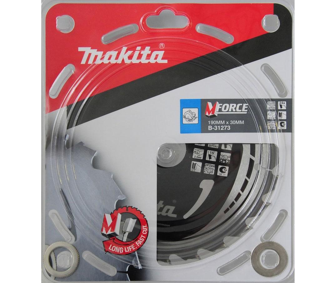 Диск пильный Makita B-31273, 190 мм
