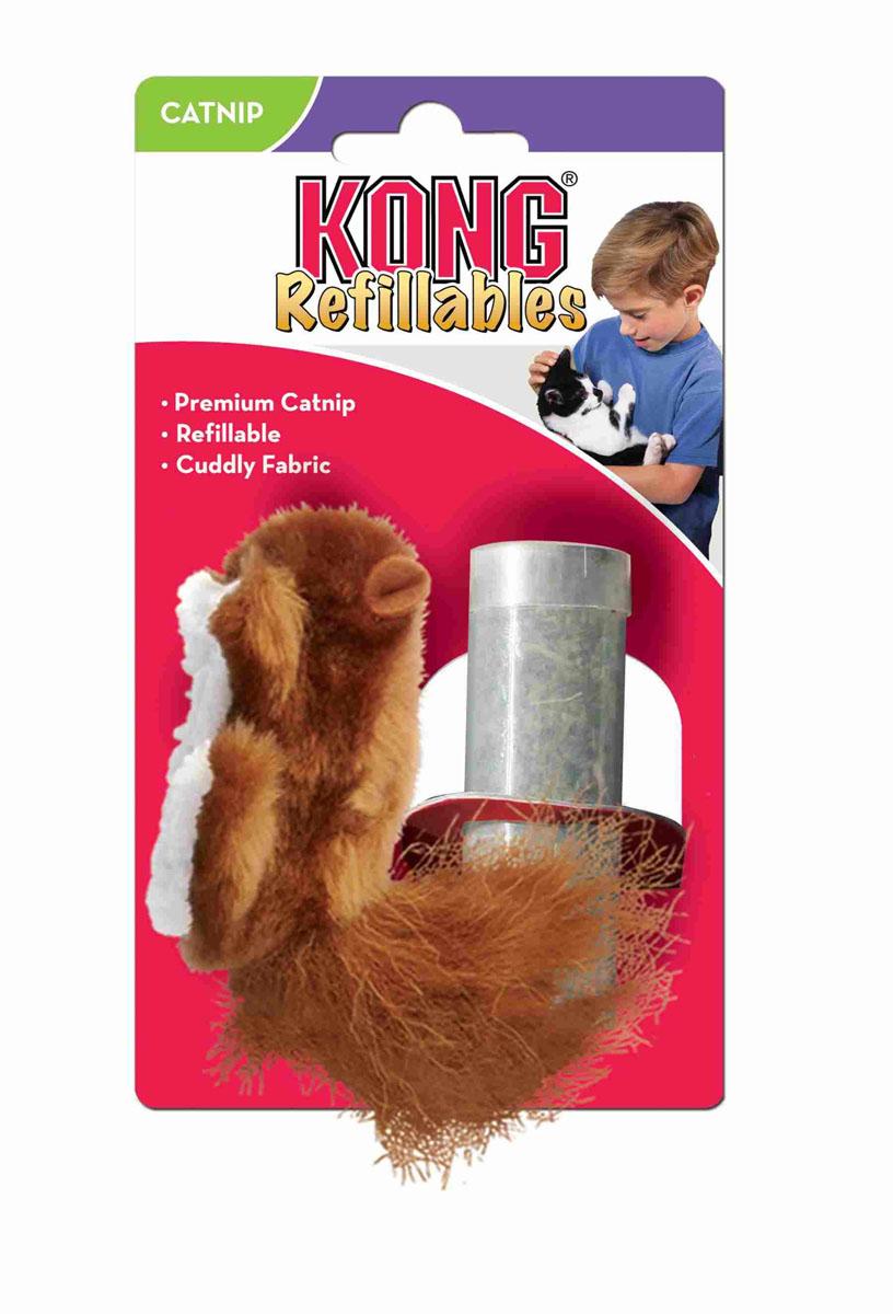 Игрушка для кошек Kong Белка, с тубом кошачьей мятыNQ4Игрушка для кошек Kong Белка выполнена из плюша в виде белочки и оснащена карманом для кошачьей мяты. Игрушка имеет прочный двойной шов. Туб с сухой кошачьей мятой входит в комплект. Мяту можно менять по мере необходимости. Игрушка Kong Белка привлечет внимание вашего любимца и займет его на долгое время. Кошачья мята (Котовик) - растение, запах которого делает кошку более игривой и любопытной.
